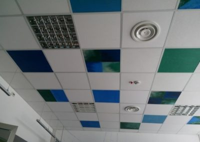 Soffitto Parafarmacia Don Bosco