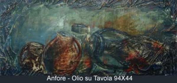 anfore olio su tavola 94x44