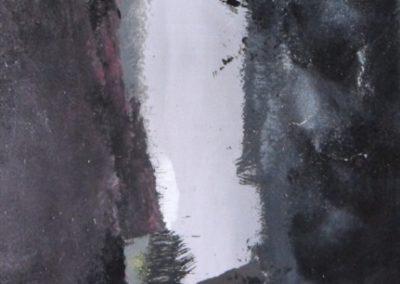 cascata acrilico su tela 150x120