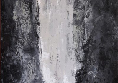 cascata acrilico su tela 80x150