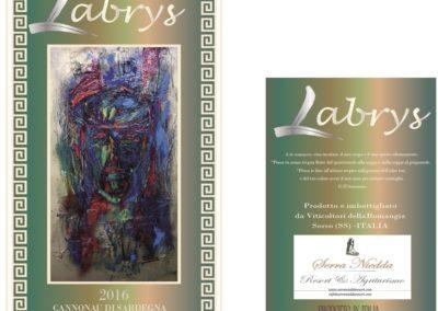 etichetta vino habibi
