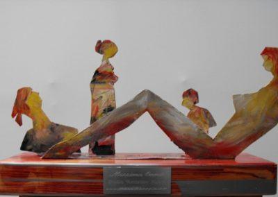 figure scultura 44x23x13