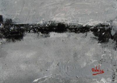 lontananza acrilico su tela 100x120