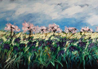primavera - acrilico su mdf 116x62