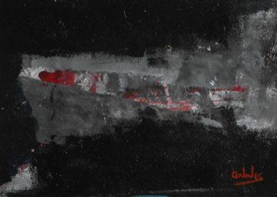 segmento acrilico su tela 150x120