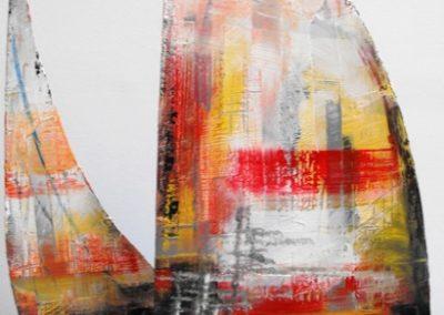 vela scultura 40x30x15